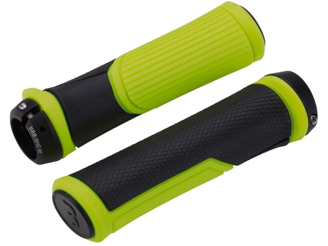 BBB Cobra BHG-96 Grips, black/neon yellow